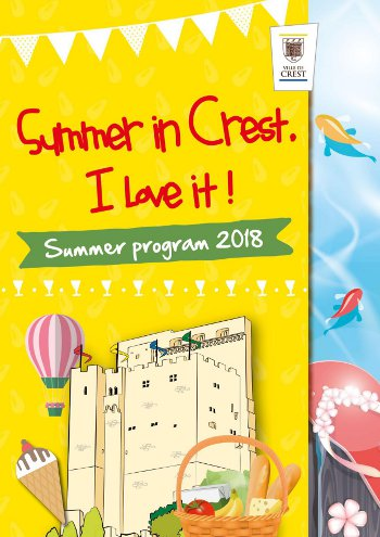 Summer program in Crest - 2018